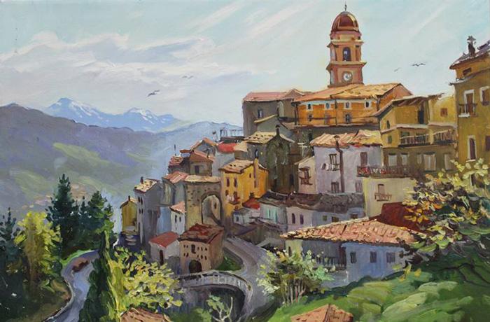chiaromonte-quadro-de-salvo-salumi-storia-lucana-antica-tradizione-natura-bio-basilicata-matera-2019-italia