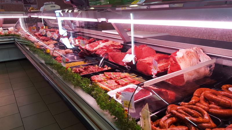 reparto macelleria bio supermercato dok de salvo chiaromonte