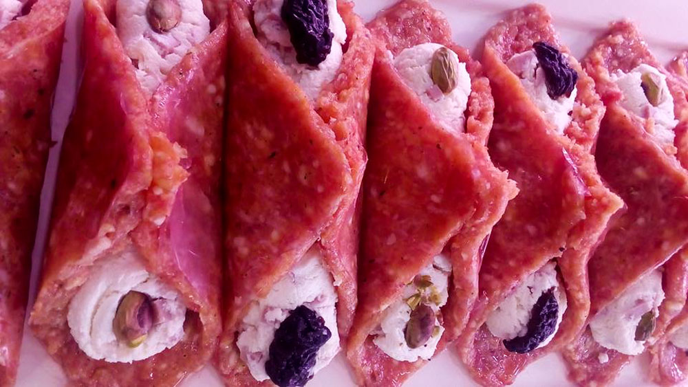 cannuoli siciliani di carne preparati da angela gourmet