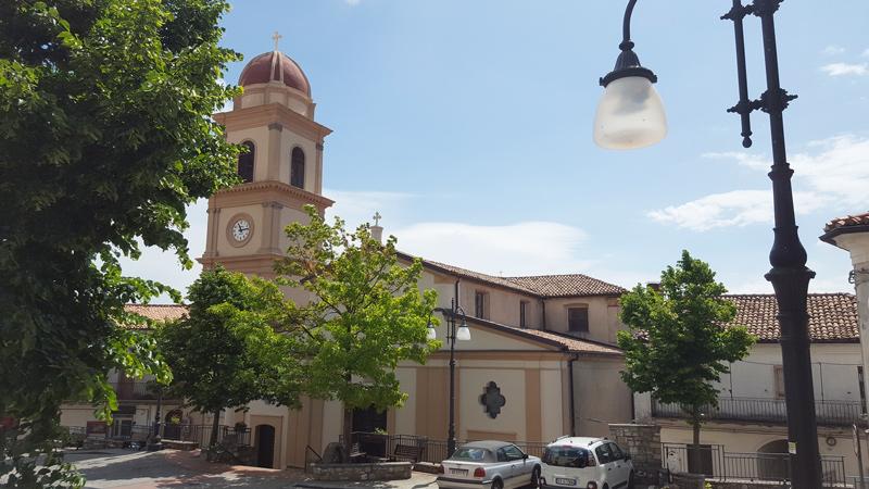 chiesa san giovanni battista piazza garibaldi chiaromonte rpovincia di potenza