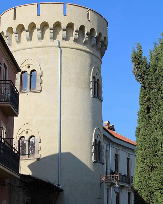 torre di giura chiaromonte basilicata paese